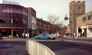 Canterbury McDonalds as it was