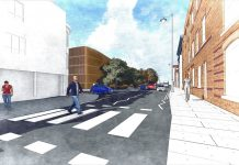 Artists impression of Station Road West car park